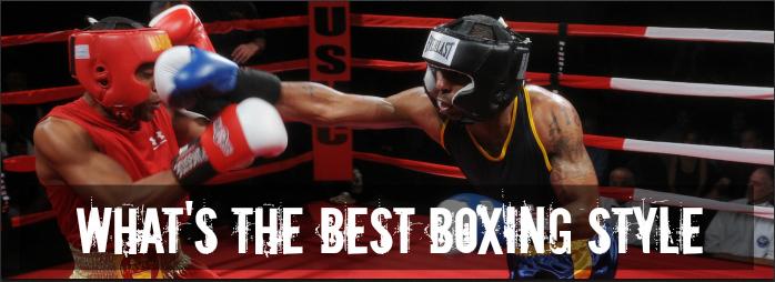 Boxing Styles Swarmer Slugger Boxer Puncher Commando Boxing