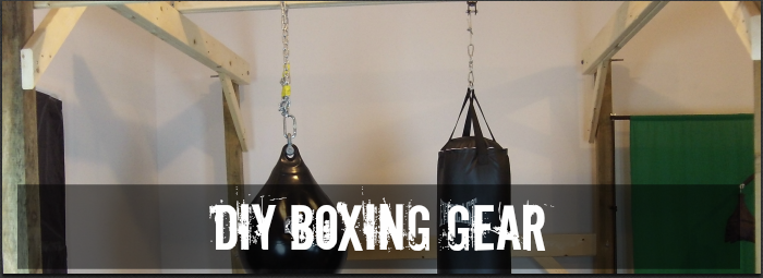 The home made boxing gym guide commando boxing