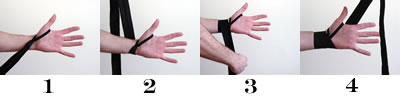 100% autentic cumpărături moda designerului How to Put on Your Handwraps – Basic Method - Commando Boxing